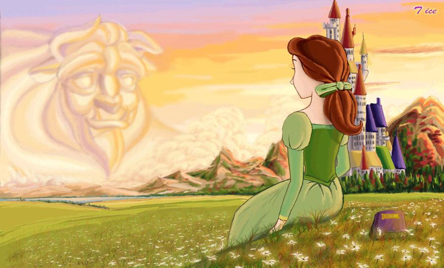 Belle Disney-princess Fan