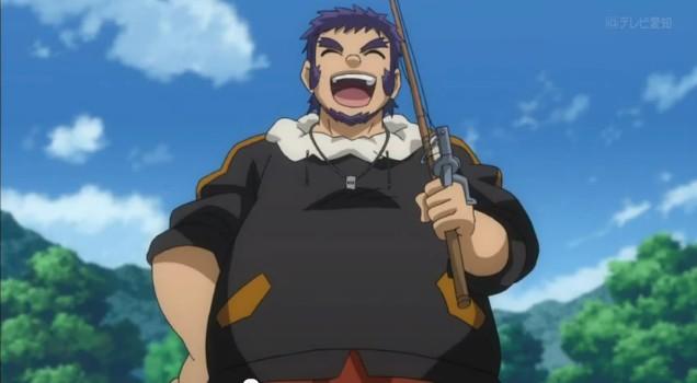 Benkei, fishing