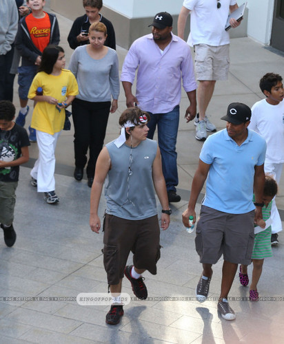 Blanket Jackson, Prince Jackson and TJ Jackson ♥♥ NEW October 8th 2012