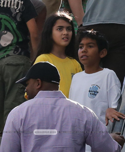 Blanket Jackson and his cousin Royal Jackson ♥♥ NEW October 8th 2012