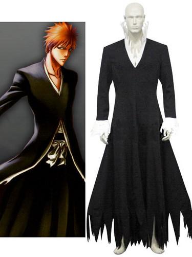 Bleach Ichigo Kurosaki Like Zangetsu Cosplay Costume