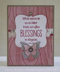 Blessings In Disguise For My Dear Friend Sharon ♥