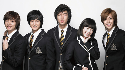 Korean Dramas پیپر وال with a business suit entitled Boys over Flowers