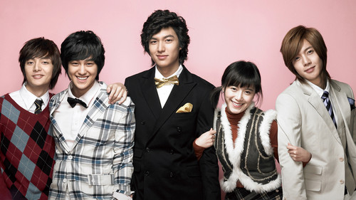 Korean Dramas wallpaper probably with a business suit and a bearskin titled Boys over Flowers