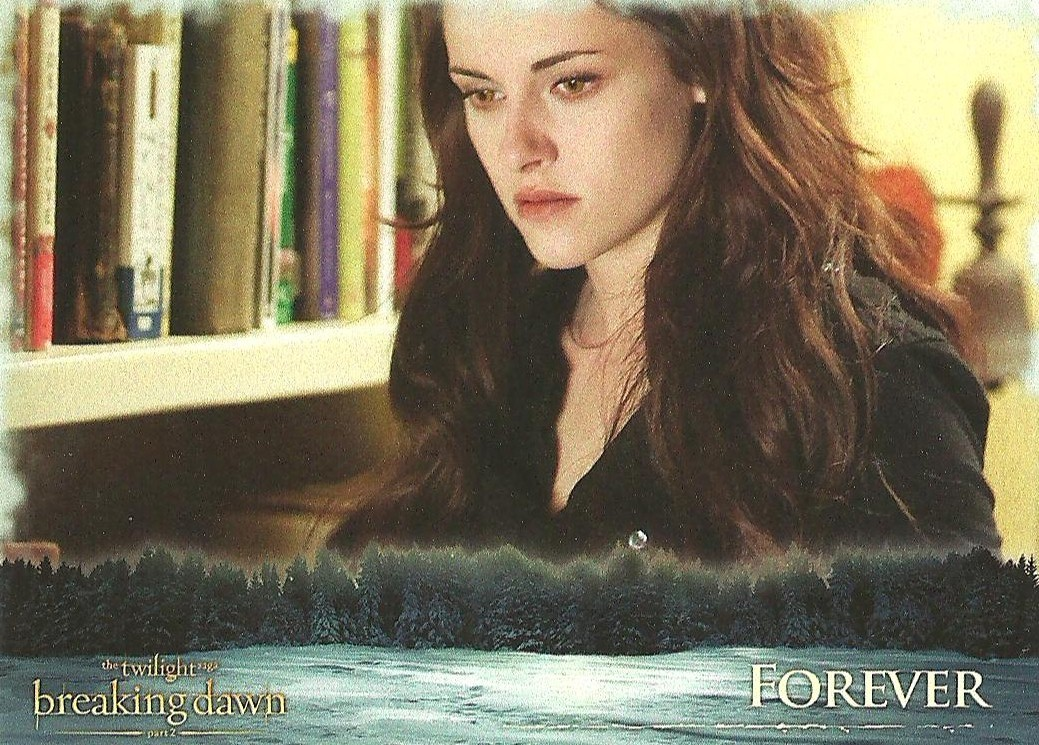 Breaking Dawn part 2 Bella trading card