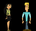 Bridgette and Trent color swap - total-drama-island photo
