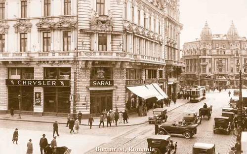 Bucharest, Romania ~ old interwar early 40's pictures Eastern Europe romanians street