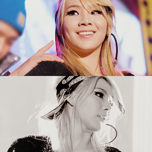 2NE1 Обои with a portrait called CL