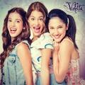 Camila, Violetta y Francesca