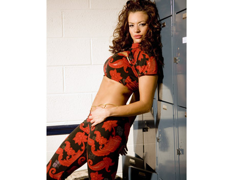 Candice Michelle wallpaper called Candice Michelle Photoshoot Flashback