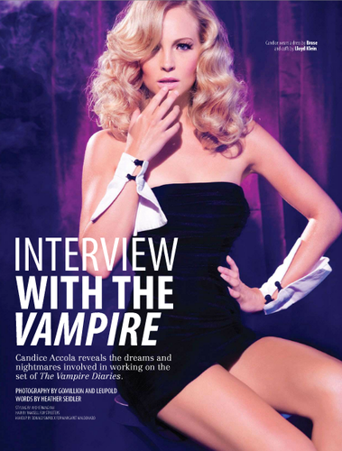 """Candice in """"Fault"""" magazine - {The Fantasy: Dreams & Nightmares Issue 