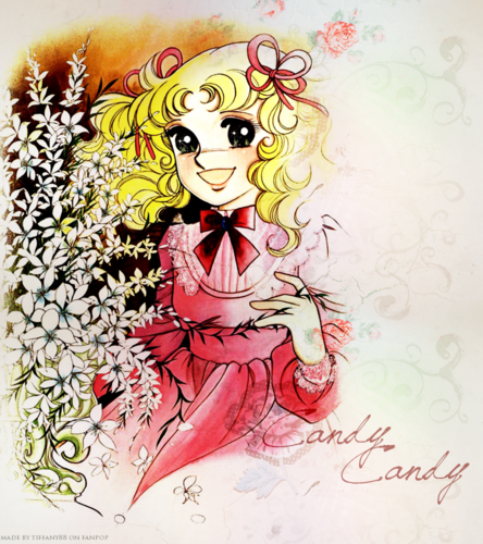 Candy Candy wallpaper with anime entitled Candy ~ ♥
