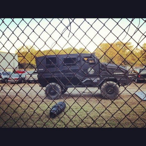 Capitol Vehicle in CatchingFire