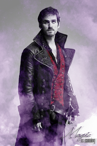 Once Upon A Time wallpaper probably with a well dressed person titled Captain Hook