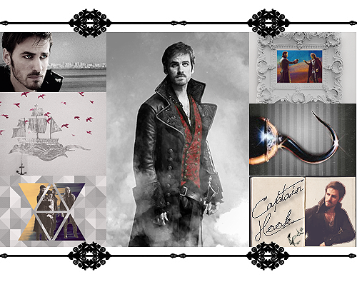Once Upon A Time wallpaper probably with a business suit and a well dressed person titled Captain Hook