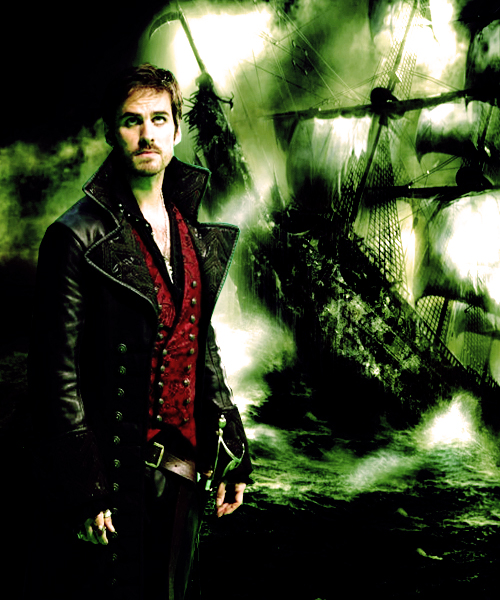Captain Hook Once Upon A Time: Once Upon A Time Fan Art (32424677)