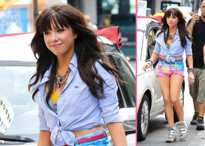 Carly rae jepsen musik Video Shoot in New York