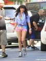 Carly rae jepsen Music Video Shoot in New York