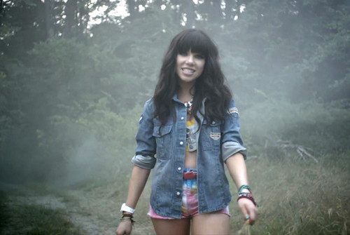 Carly rae jepsen música Video Shoot in New York