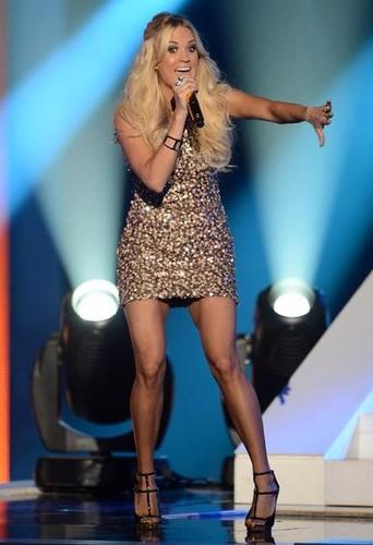 Carrie Underwood @ 2012 CMT Awards