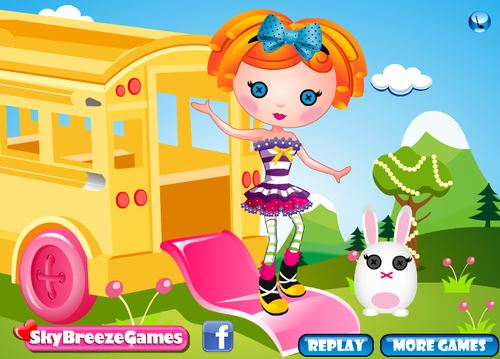 Cartoon games at Dressup24h.com