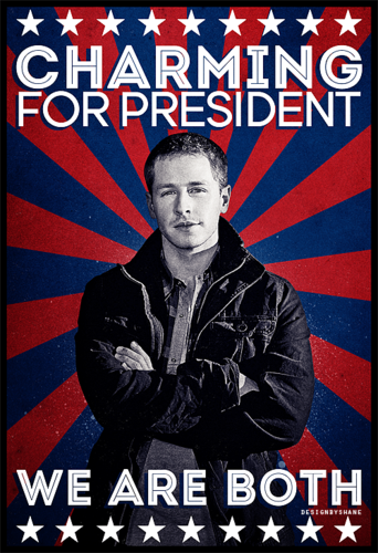 Once Upon A Time wallpaper with anime titled Charming for President