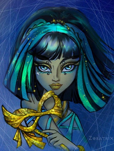 Cleo; Ghouls Rule Portrait