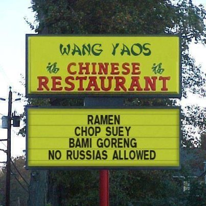 Clever China...