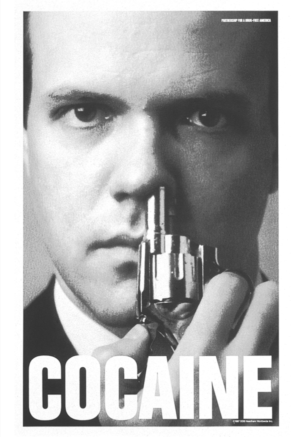 Cocaine poster, 1987