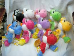 Collection of Colored Yoshis!