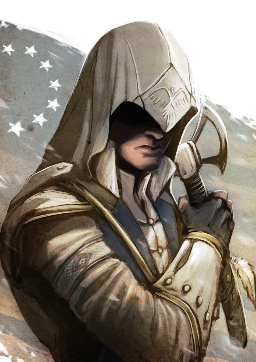 Connor The Assassin S Fan Art 32493359 Fanpop