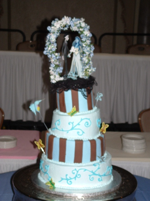 Wedding Cake In Corpse Bride Movie