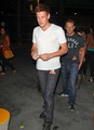 Cory Leaving The Black Keys Concert At Staples Center - October 6, 2012 - cory-monteith photo