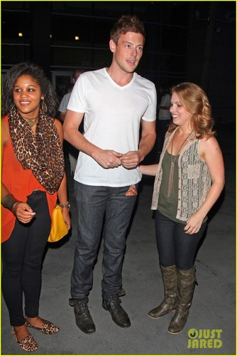 Cory Leaving The Black Keys Concert At Staples Center - October 6, 2012