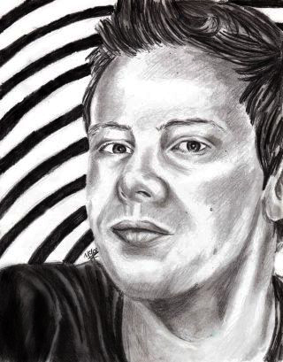 Cory Monteith wallpaper titled Cory Montheith By Ygor1000
