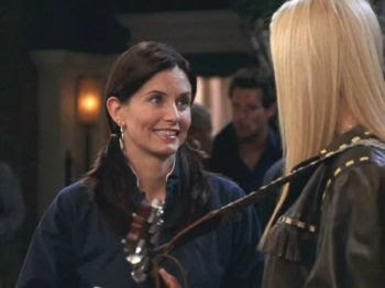 Courteney Cox as Monica Geller