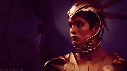 Daniel Sharman in Immortals