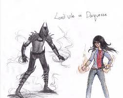 Darquesse vs Lord vile
