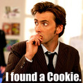 David found a cookie! :D