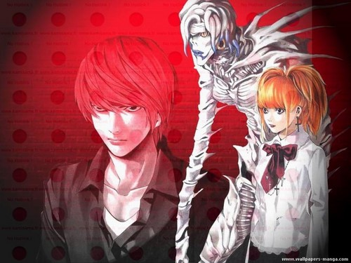death note wallpaper possibly with anime entitled Death Note