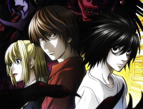 Death Note achtergrond containing anime titled Death Note