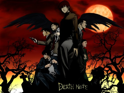 Death Note achtergrond containing anime called Death Note