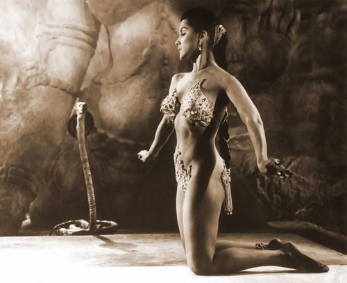 Debra Paget in Fritz Lang's The Tiger of Eschnapur 1959
