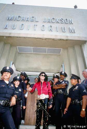 Dedidication Ceremony Of Auditorium In Hi Honor Back In 1989