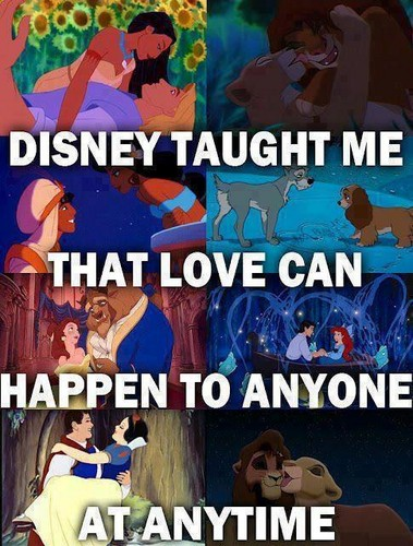 Disney l'amour