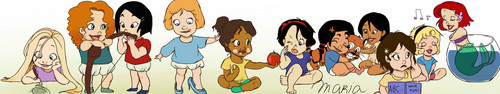 Disney Princesses Baby version