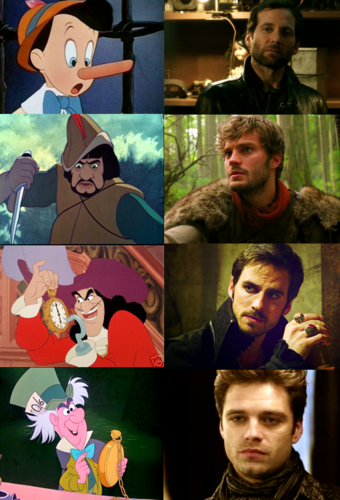 Once Upon A Time fond d'écran called Disney vs. Once Upon A Time
