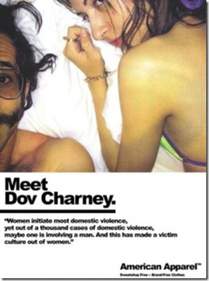Feminism wallpaper with a portrait entitled Meet Dov Charney, Owner of American Apparel