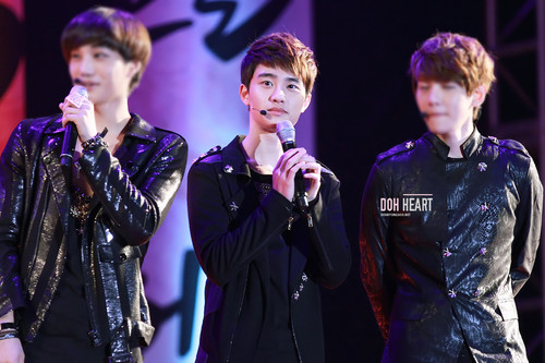 EXO-K @ 30th Chaorwon Tae Bong Festival