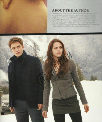 Edward Cullen and Bella angsa, swan Breaking dawn part 2